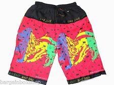 Mens Lion Of Judah Rasta Reggae Jamaica Board Shorts With Pocket Unisex Freesize