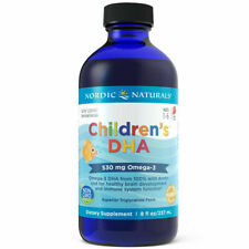 Children's DHA Liquid 237 ml - Omega-3 DHA Fish Oil For Ages 1-6, FREE P&P