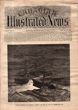 1870 Canadian Illustrated News May 14-Deer hunting in Alaska; Squaw's Grave