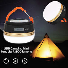 300LM USB Super Bright Rechargeable LED Camping Tent Fishing Lamp Light Portable