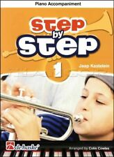 Step by Step 1 Trumpet Piano Accompaniment Sheet Music Book SAME DAY DISPATCH
