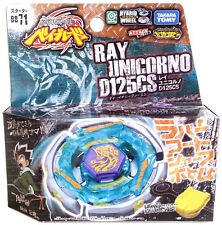 TAKARA TOMY / HASBRO Ray Unicorno Striker D125CS Beyblade BB-71 - USA SELLER