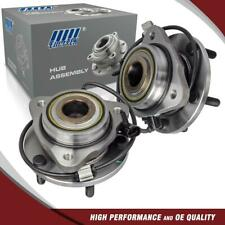 2Pcs Premium Front Wheel Hub Bearing Assembly Set for GMC Jimmy for Chevy Blazer