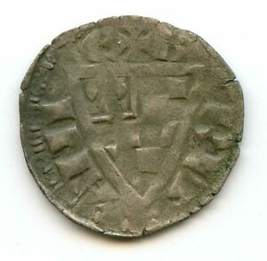 Bretagne Jean Ier (1237-1286) Denier Dy.73