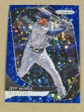 2020 PANINI PRIZM JEFF McNEIL DARK BLUE DISCO PRIZM #58/199