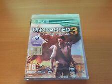 PS3 UNCHARTED 3 L'INGANNO DI DRAKE PLAYSTATION ITA NUOVO