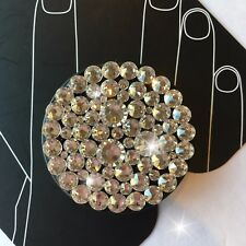 NEW Bling Authentic Black PopSocket CLEAR Swarovski Crystals PopSockets iPhone