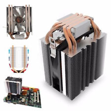 LED CPU Quiet Fan Cooler Heatsink for Intel Socket LGA2011/LGA1156 AMD AM3 AM2
