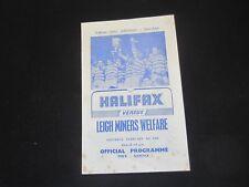 1968 Rugby League Cup Halifax V Leigh continus Welfare