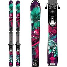 Salomon Q-Lux Junior Girl Ski w/ EZY5 Bindings 120cm
