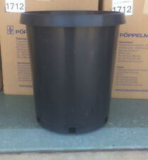 15 GALLON HEAVY DUTY PLASTIC NURSERY POTS QUANTITY 10