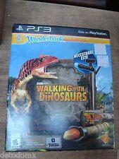 WONDERBOOK walking with dinosaurs caminando con dinosaurios new español /english