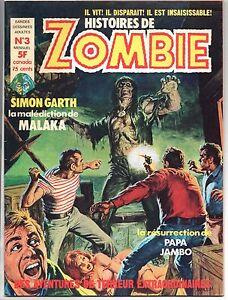 ZOMBIE n°3 - mensuel France Sud 1976. Parfait état