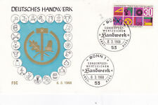West Germany 1968 German Crafts and Trades FDC Unadressed VGC