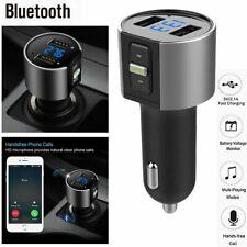 Wireless In-Car Bluetooth FM Transmitter MP3 Radio Adapter Car Kit USB Charg3c
