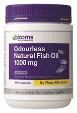 Blooms Omega Odourless Fish Oil 1000mg 400 Capsules