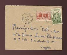 FRENCH SAHARA DIAFARABE MALI 1957 AOF 10F + 5F