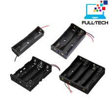 Support boitier AA Batterie Piles AA - LR6 Coupleur 1, 2, 3 ou 4 piles Full-Tech