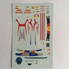 DECALS KIT 1/18 FIGURA + HELMET VETTEL F1 WORLD CHAMPION 2011 FIGURINO,DRIVER