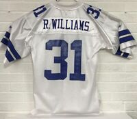 Reebok NFL Dallas Cowboys Roy Williams #31 Football Jersey Men's Medium White