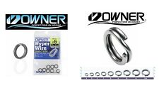 Owner Hyper Heavy Duty Split Rings P12 Size 5 Qty.9 New