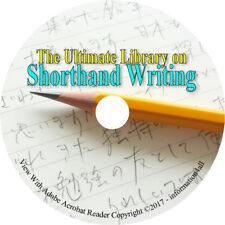 70 Books CD Shorthand Writing How to Illustrative Manual Symbols Abbreviations
