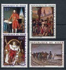 Niger 206/09 postfrisch / Gemälde - Napoleon .............................1/2095