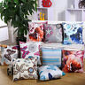 Fox Sofa Waist Cushion Cover Home Decor  Cotton Linen Throw Pillow Case I0022