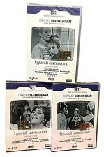 6 Dvd Serie del drama RaiI GRANDES CAMALEONES ~ NAPOLEÓN Fenoglio completa 1964