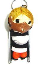 Hannibal Lecter Movie Voodoo String Doll Keychain Keyring Cosplay Fob USA