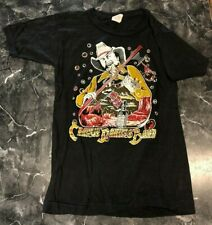 Vintage Rock T Shirt - Charlie Daniels Band NOS RN S Black Tour country