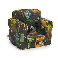 Africa Children's Armchair Kids Toddler Seat Removable Cover Boys Sofa Chair