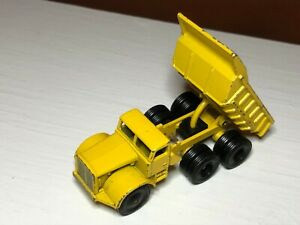 Vintage Matchbox Lesney No.6  Euclid Dump Truck Yellow Made In England