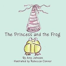 The Princess and the Frog by Amy Johnson (2010, Hardcover)