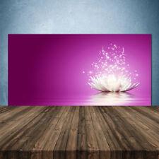 Crédence de cuisine en verre Panneau 140x70 Floral Fleur De Lotus