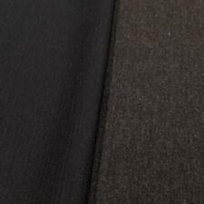 Doubleface Woll-Jersey (Merino) – Chaleur – dunkelmarine/anthrazit - per Meter
