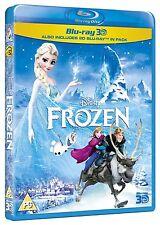 Frozen 3D (Blu-ray 3D + Blu-ray 2D) [Region Free] New Sealed, Genuine UK Release