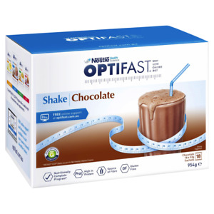 Optifast VLCD Chocolate Shake 18 x 53g Sachets (954g) Meal Replacement Diet