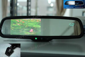 "Auto dimming rearview mirror+4.3"" backup display+compass+temp,fit some Honda"