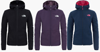 The North Face TNF Tanken Highloft Soft Shell Womens Windproof Jacket Hooded New