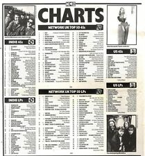 9/11/91 Pgn56 The Nme Charts On9/11/91 The Uk Top Fifty Singles And Albums