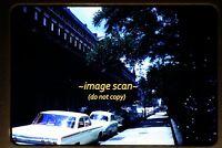 1962 New Orleans, Louisiana, Street Scene and Cars, Original Slide c18b
