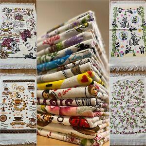 Tea Kitchen Hand Towel 100% Cotton Turkish Gift Present Souvenir