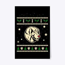 """Christmas Sarplaninac Gift Poster - 24""""x36"""""""