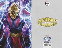INFINITY WARS #4 MARVEL COMICS  SUJIN JO BATTLE LINES VARIANT COVER D