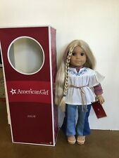 New ListingAmerican Girl Julie Albright 1970 Character Doll with Original Box and Outfit