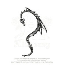 Alchemy Gothic The Dragon's Lure Single Wrap Cuff Earring for Left Ear E274L