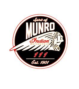 sticker decal  - spirit of munro  - Burt Munro