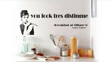 Breakfast At Tiffany's - Wall Decal Wall Art Removable Sticker