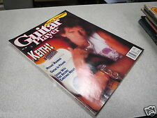 REVUE MAGAZINE MUSIQUE GUITAR PLAYER dec 89 1989 STEVE STEVENS MANRING MEDLEY *